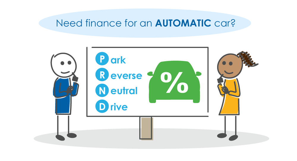 automatic car finance characters