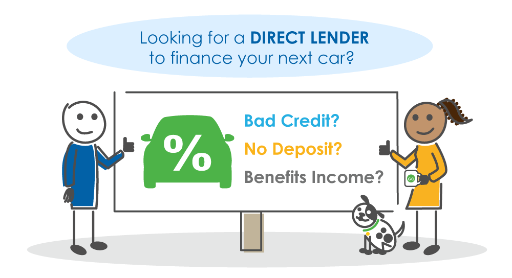 bad credit car finance direct lender characters