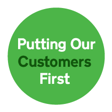 Putting Our Customers First