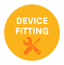 device-fitting