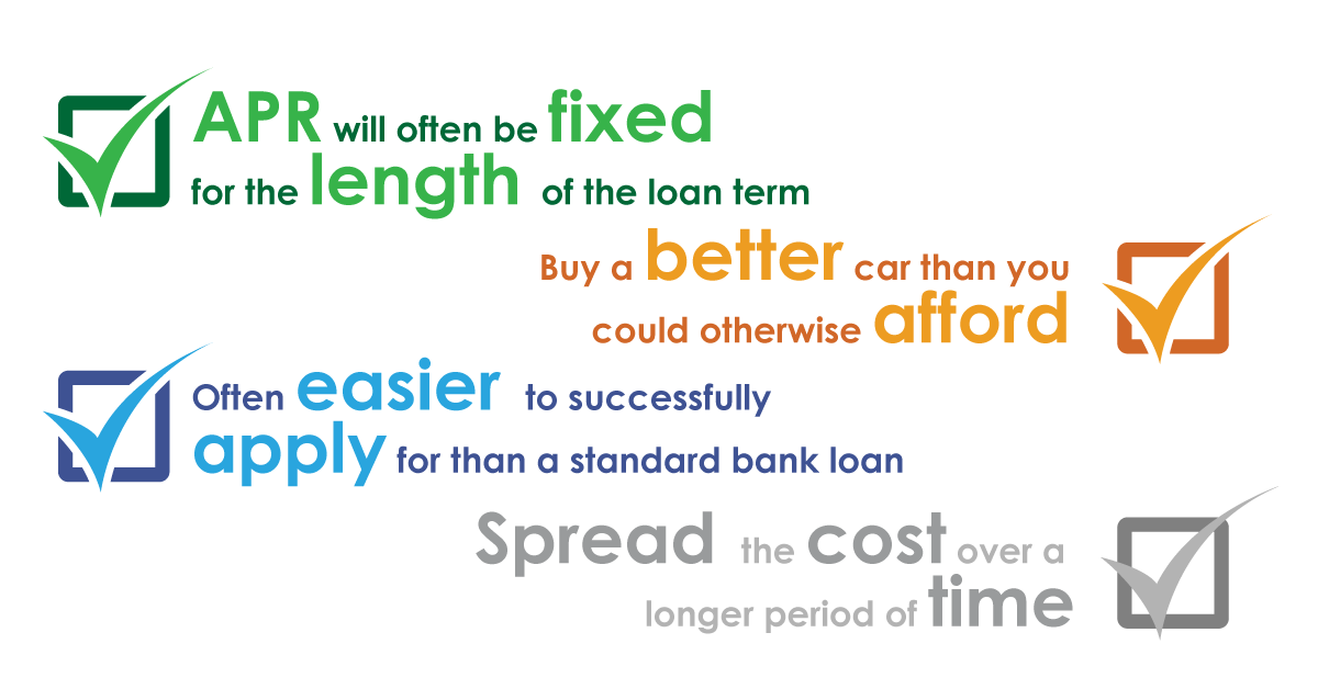 The benefits of getting car finance