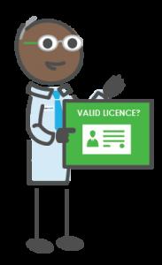 valid licence