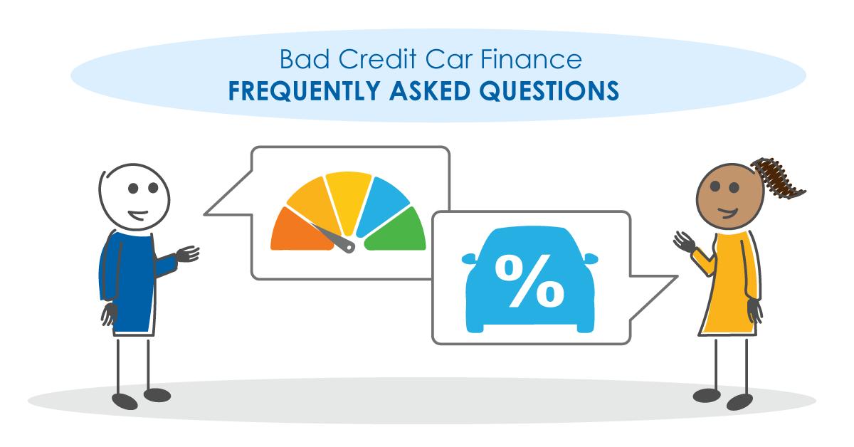 Bad Credit Car Finance FAQs