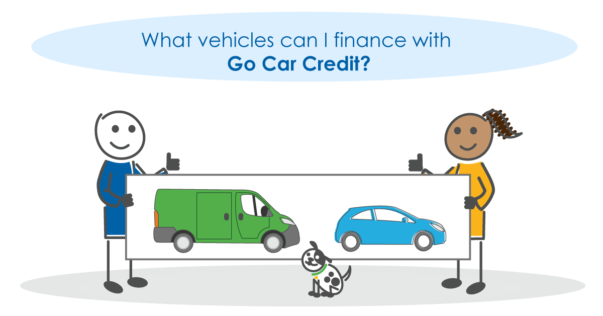 What vehicles can I finance with Go Car Credit?