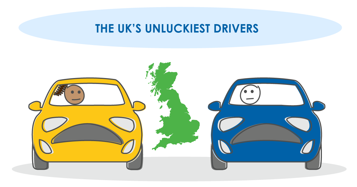 Go Car Credit Reveals the UK's Unluckiest Drivers