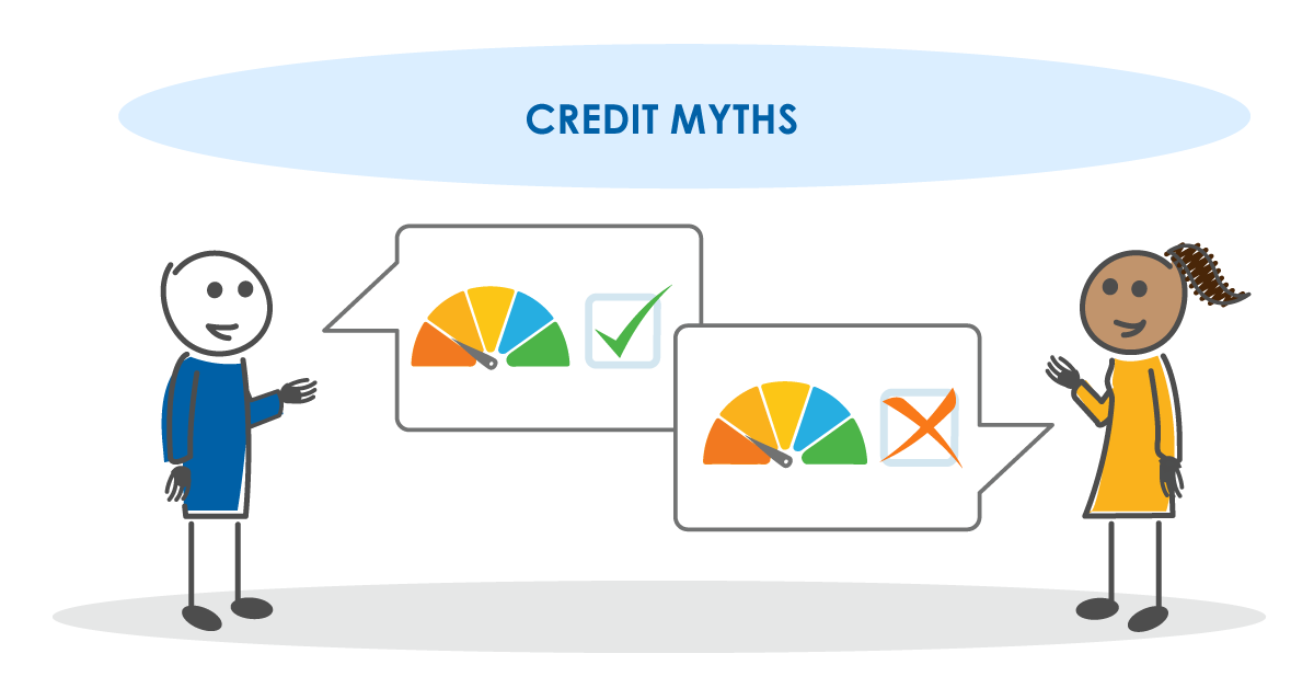 Credit myths and the truth behind them