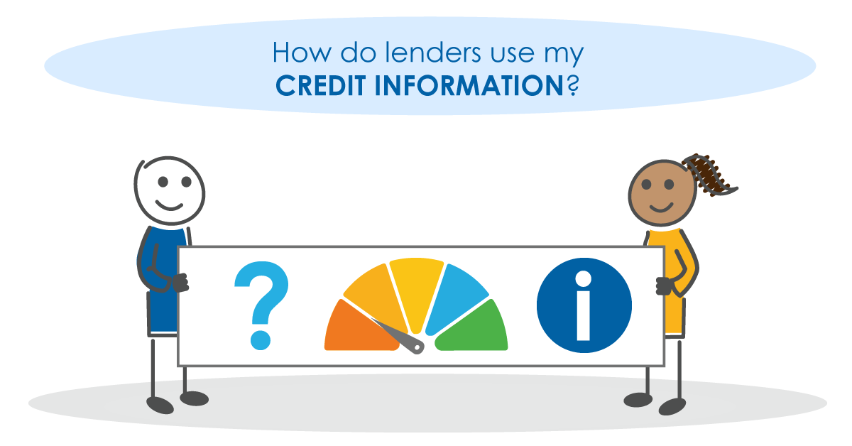 How do lenders use my credit information?